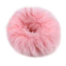Soft Fur Hair Bands Plush Artificial Rabbit Fur Ball Girl Headwear Elastic Rope Band Ties For Women Hair Accessory Rubber pompon