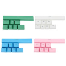 8 Keys PBT Keyboard Switch Key Caps Transparent Backlit Keyboard KeyCaps For Corsair Strafe K70 RGB K65 K95 Gaming Keyboards(China)