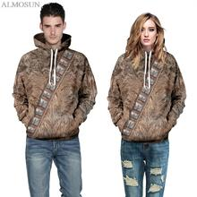 ALMOSUN Harajuku Fashion Animal Hunter Band Wear Hoodies Sweatshirt 3D All Print Outerwear Sweatshirts Hooded Men Women