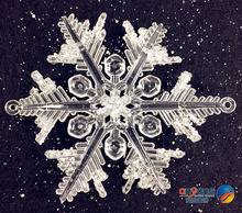 Christmas Ornaments Window Decorations Snow and ice Margin effect Scene 0CM Acrylic fruit Snowflake Diamond effect