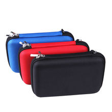 "Aipinchun Portable Storage Box Zipper Carrying Case Shockproof Bag for 2.5"" HDD Hard Disk Drive Battery Power Bank etc AA0107(China)"