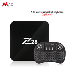 Android 7.1 TV Box Z28 Rockchip RK3328 64-bit Cortex A53 1GB/8GB (2GB/16G Optional) support H.264, 265 4K USB 3.0 WiFi OTT Box