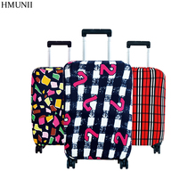 Hot Fashion Travel on Road Luggage Cover Protective Suitcase cover Trolley case Travel Luggage Dust cover for 18 to 30inch(China)