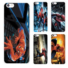 Luxury Hotsell Spiderman painting For IPhone5 5S SE Phone Case soft Ultra slim silicone Tpu diy Custom Phone Cover