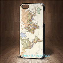 Cool New Vintage Old World Map Earth Map  cell phone case cover for iphone 4 4s 5 5s 5c SE 6 6s & 6 plus 6s plus 7 7 plus &ss232