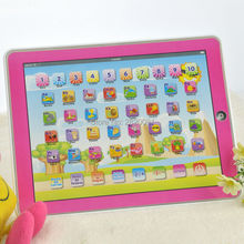 Y-Pad Spanish language tablet computer learning machine with led light toys,touch screen children's best learning toy gift(China)