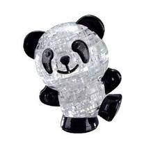 2016 1Set NewCreative Crystal Puzzle Interactive Puzzles for Babies Lovely Panda Shape 3D Puzzles evelopmental Toys