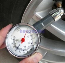 1 X Pressure Gauge Meter Car Dial Pressure Heavy Duty Metal Compact Auto Motocycle Dial Tyre Wholesales(China)