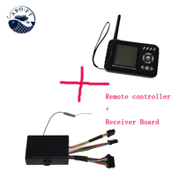2.4Ghz JABO 2BL display remote controller plus receiver with sonar fish finder  for JABO-2BL RC fishing tools