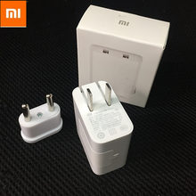 Buy Original XIAOMI Travel Charger Dual Usb Ports Wall Charger Support Qualcomm Quick Charge 3.0 Data Cable for $14.85 in AliExpress store