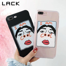 Buy LACK Funny Cartoon Couples Phone Case iphone 7 6 6S 8 Plus Case iphone X Cover Fashion Ultra Slim Soft TPU Cases Fundas for $2.03 in AliExpress store