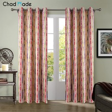 ChadMade Thermal Insulated Blackout Curtains for Living Room Bedroom Window Treatments Room Dark Curtains Panel Drapes BL8132PA