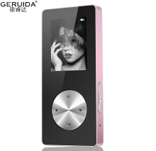 GERUIDA 2017 Bluetooth MP4 Player Full Metal Hifi MP4 Player Walkman With Loudspeaker Arm Strap Support Video Recording Watch