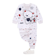 Baby Clothing Set 2pcs/set Cotton Long Sleeve Newborn Baby Boy girls Clothes Sets Cartoon Baby Girl  Toddler Suit baby Pajamas