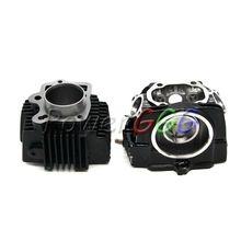 LIFAN 125 110cc 125cc   T125 Black  Engine Cylinder  Cylinder Body Cylinder Cover  Fit  For Lifan125 engine parts