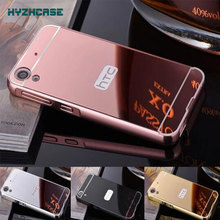 Fashion Luxury Rose Gold Silver Black Beauty Frame Mirror Case For Sony Xperia Z L36H L36i C6603 C6602 Back Shell Cover Housing