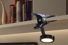 A1 Led clip small desk lamp bedroom bedside reading eye clip lamp adjustable light dormitory USB mini desk lamp(China)