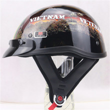 2016 Hot sale High quality ABS military style professional harley motorcycle helmet open face jet vintage helmets DOT Approved