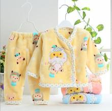 2pcs/set Boutique gift New born Baby's Sets 100% soft cotton 0-9months Underwear baby clothes set,Free Shipping  JE022