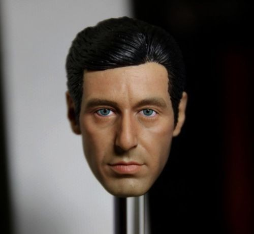 1/6 Scale Godfather Al Pacino Head Sculpt Star Man Head Carving 12 inches Male Figure Collection Doll Toys Accessories<br>