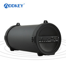 ADDKEY 89mm Big Bass Outdoor Bluetooth Speaker Wireless Sports Portable Subwoofer Bike Car music Speakers Radio FM Mp3 player(China)