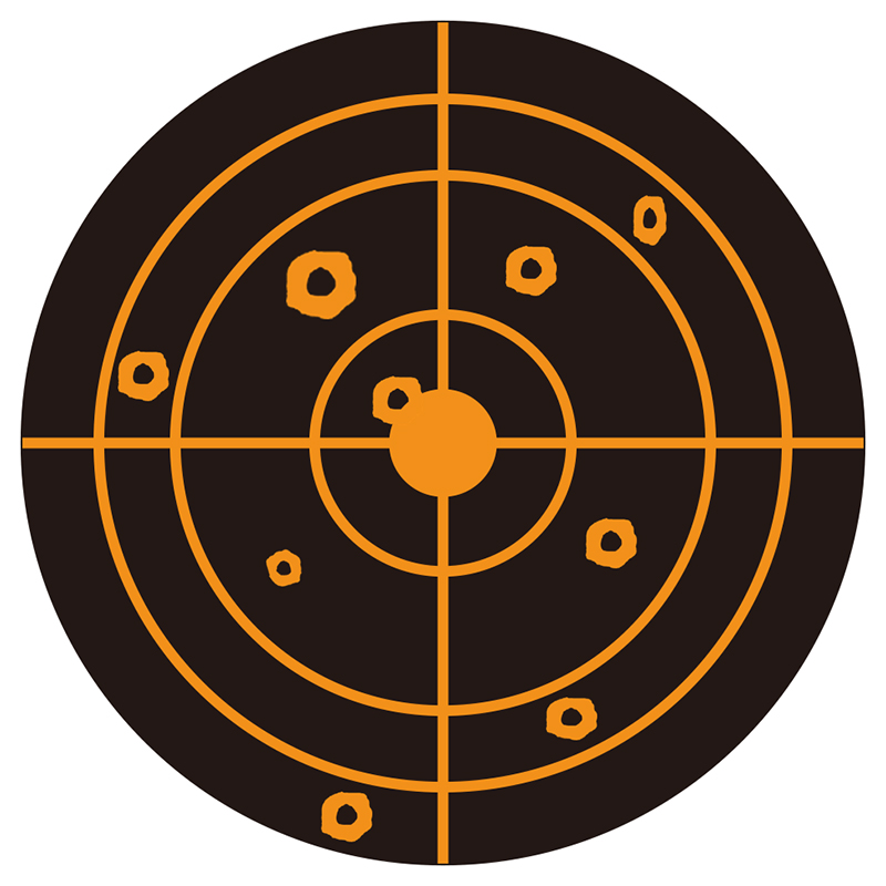 orange-splatter-targets