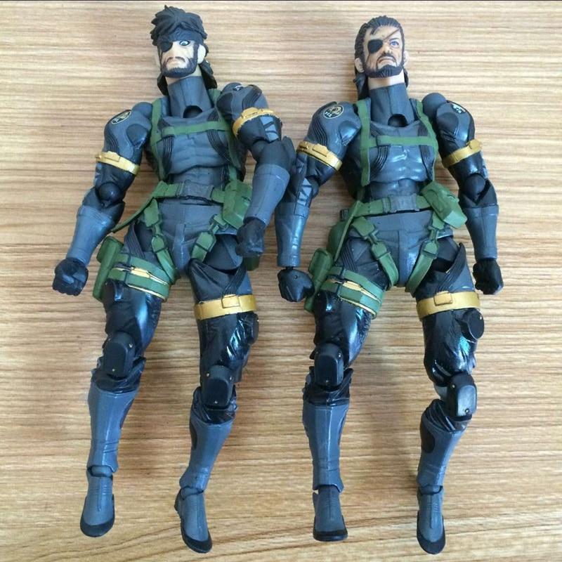 16CM Metal Gear Solid V The Phantom Pain Iroquois Pliskin Old Snake PVC Action Figure Model Toy  <br><br>Aliexpress