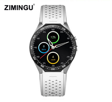 Free Shipping 2017 New KW88 WristWatch Bluetooth Smart Watch Sport Pedometer With SIM Camera For Android Smartphone Russia