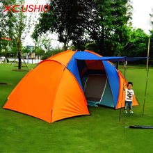 Awning Tent Roof Folding Marquee Tent 5 Person Fishing Garden Outdoor 4 Season Large Camping Tent Pole Fiberglass