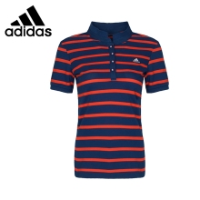 Original New Arrival 2017 Adidas W TC POLO1 Women's Tennis POLO shirt short sleeve Sportswear(China)
