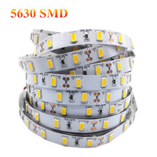 1/2/3/4/5M High Quality LED Strip Light 5630SMD Super Bright DC12V Stripe String LED Tape Non-waterproof Indoor Home Decoration(China)