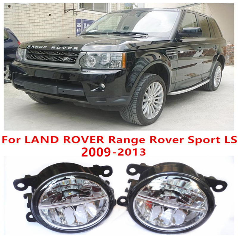 For LAND ROVER Range Rover Sport LS 2009-2013  10W Fog Light LED DRL Daytime Running Lights Car Styling lamps<br>