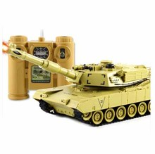 Kingtoy Rc Battle Tank Remote Control  Funny War Shooting Tank large scale Radio Control Army battle Model millitary rc tanks