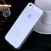 High Quality Protector Back Cover case For Apple iPhone SE Silicon case Mobile Phone Protective Accessories + Free Shipping