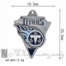 Tennessee super bowl american football world championship contenders Titans team charms chains dangle pendants ON SALE NE0968