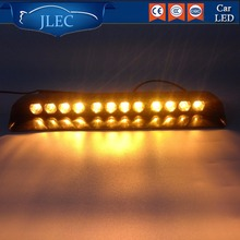 Car-styling Automobiles 12 LED High Power Car Window LED Light Auto Strobe Flashing Light Bright Ambulance Police Truck Lightbar