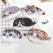 Kawaii Pencil Case School Supplies Stationery Gift Cute cat Large capacity Pencil Box Pencilcase Pencil Bag penalty 04857