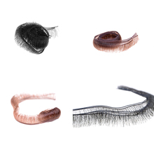 Wholesale 5pcs/lot 0.5/0.8/1.0cm Width Eyelashes For Doll Baby Dolls Accessories Doll Eyelashes