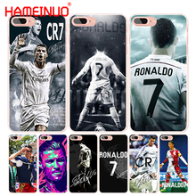 HAMEINUO Cool Cristiano Ronaldo CR7 cell phone Cover case for iphone 4 4s 5 5s SE 5c 6 6s 7 8 X plus(China)