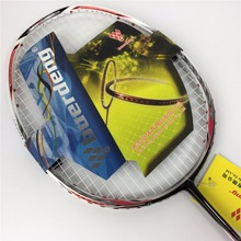 hot selling N90 III carbon badminton racket with string and overgrip n90 badminton racket made of carbon fiber n903 duora lcw