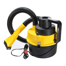 Yellow Auto Car Boat Truck Van Portable 12V Wet And Dry Vacuum Cleaner Hoover Air PumpCar  Vacuum Cleaner