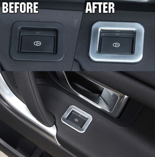 car door lock button. Car Styling FIT FOR 15- DISCOVERY SPORT CHROME INTERIOR DOOR LOCK BUTTON SWITCH COVER TRIM Free Shipping Door Lock Button