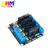 Buy Hobimake New Hotsale 4-channel 5V high-level solid-state relay module fuse solid state relay 250V2A arduino #16 for $13.46 in AliExpress store