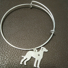 World Of Warcraft Collares Catahoula bracelet Custom Dog Breed Personalized Name Memorial Gift Family dog Charms Fashion Jewelry(China)