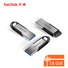 SanDisk USB 3.0 3.1 Flash Drive 128 ГБ 64 ГБ 32 ГБ 16 ГБ 130MBS ultra Flair Memory Stick Pen накопители флешки flashdisk U диск для ПК(China)