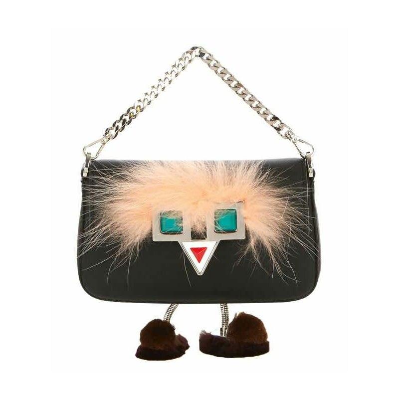 2017 Women Handbags Mini Hypnotic Eye Bags Rivet Messenger Bag Famous Brand Designer  Shoulder Bag Monster Feet Fur Tote Purse<br><br>Aliexpress