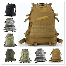 2016 New 3D Field Outdoor Molle Military Tactical Rucksack Backpack Camping Hiking Bag