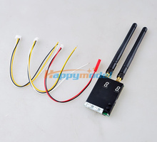 5.8G 32CH 500mW Dual-way Integration AV Transmitter Sender TX5502 Z15 Gimbal FPV (Mini Size Suit For Different Aircrafts)