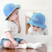 Baby Girl Kids Children Fashion Summer Letter Pattern Beach Cap Sun Hat 6-12 M CY1