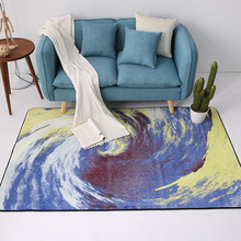 Creative Atmospheric Vortex Carpets For Living Room Soft Rugs For Bedroom Coffee Table/Study Area Rug Children Play Floor Mat